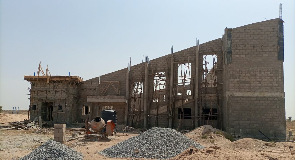 CONSTRUCTION OF FACULTY OF AGRICULTURE THEATRE COMPLEX