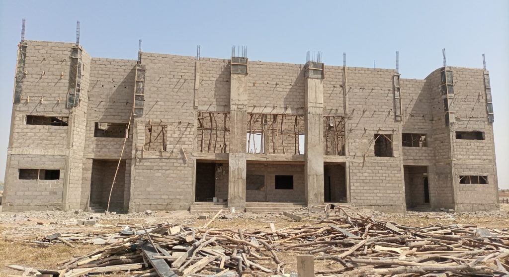 CONSTRUCTION OF FACULTY OF AGRICULTURE THEATER COMPLEX
