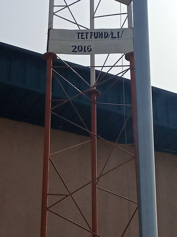 2 Mast E-Library Internet Equipment 2016 TetFund Interventions